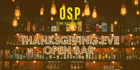 Thanksgiving Eve Open Bar Package tickets