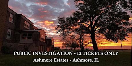 October Public Investigation tickets