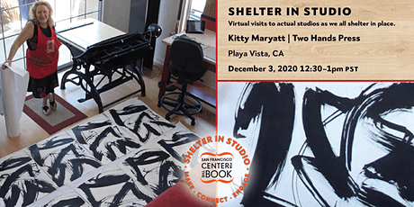 SFCB Shelter in Studio tour :: Kitty Maryatt / Two Hands Press tickets
