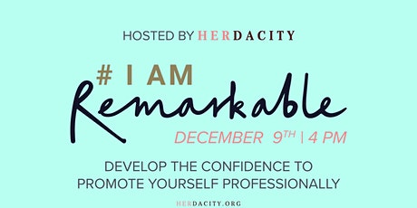 #IamRemarkable | a Virtual Workshop tickets