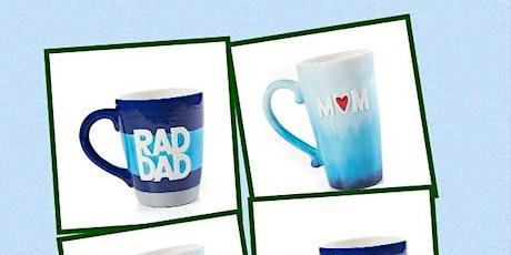 Kids Night Mom and Dad mugs tickets