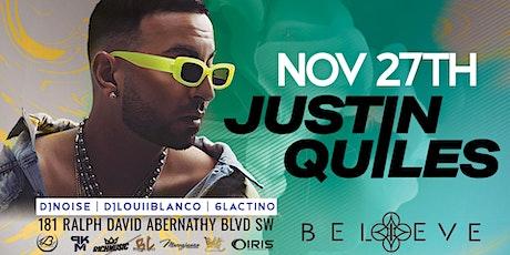Justin Quiles | Platinum Reggaeton Recording Artist @ Believe Music Hall tickets