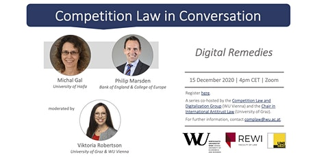 Competition Law in Conversation: Digital Remedies tickets