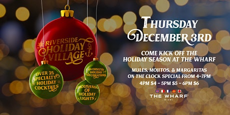 Riverside Holiday Village Kickoff tickets