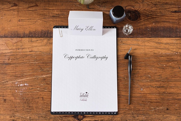 Private Online Calligraphy Lessons image