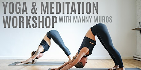 Yoga and Meditation Workshop tickets