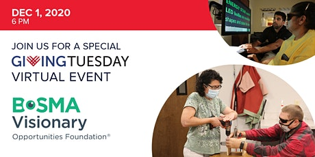 #GivingTuesday Virtual Happy Hour in the Dark tickets