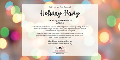NAWIC Baltimore Holiday Party tickets