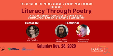 Literacy Through Poetry: November 28th Virtual Event tickets