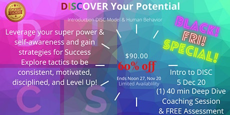 DISCover Your Potential tickets