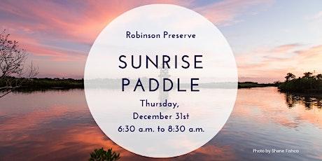 Sunrise Paddle Robinson Preserve tickets