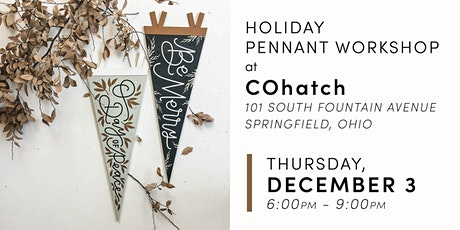 Holiday Pennant Workshop tickets