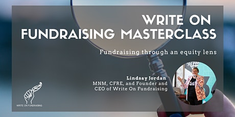 Fundraising through an equity lens tickets