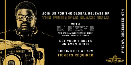 First Friday + Black Gold Release Party with Principle Cigars tickets