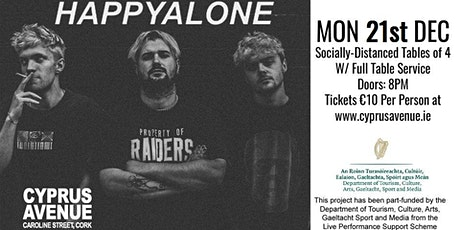 Happyalone - Socially Distanced Show tickets