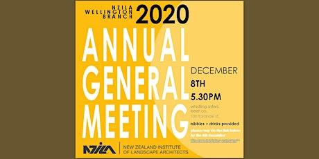 AGM NZILA WELLINGTON BRANCH tickets