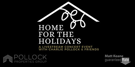 """Home for the Holidays"" A star-studded  Livestream Holiday Concert tickets"