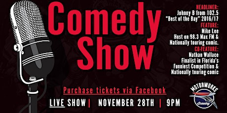 LIVE Comedy Show  at Motorworks Brewing! tickets