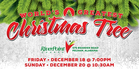 The World's Greatest Christmas Tree tickets
