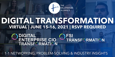 Digital Enterprise CIO & FSI Transformation tickets