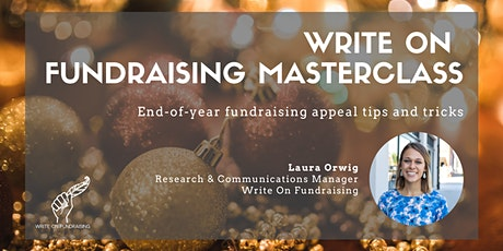 End-of-year fundraising appeal tips and tricks tickets