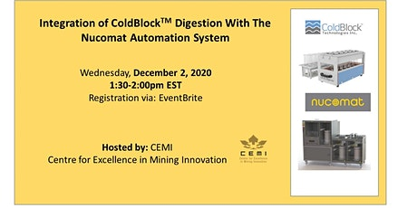 Integration of ColdBlock ™ Digestion With The Nucomat Automation System tickets