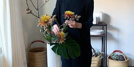 Ikebana - Japanese flower arrangement demo (12/13) tickets