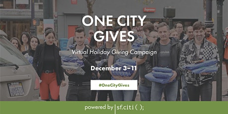 One City Gives: Virtual Holiday Giving Campaign tickets