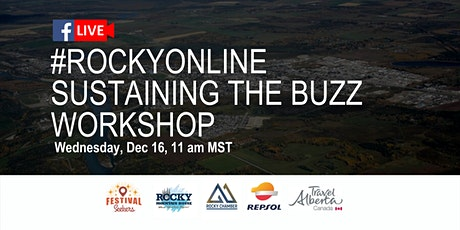 #RockyOnline Workshop - Sustaining the buzz tickets