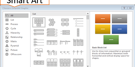 Change Boring Bullet Points Into Smart Visuals in PowerPoint tickets