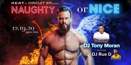 Heat X Circuit SA presents: Naughty or Nice tickets