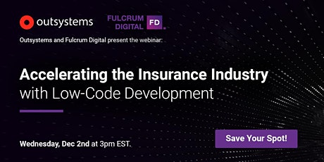 Accelerating the Insurance Industry with Low-Code Development tickets