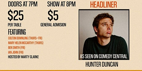 Wise Quacks Comedy Show - Hunter Duncan tickets