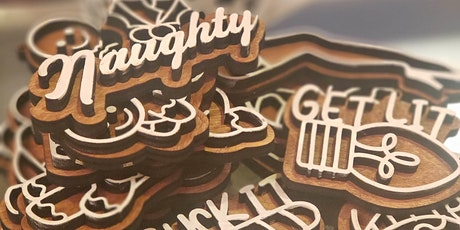 Naughty Faux Gingerbread Ornaments tickets