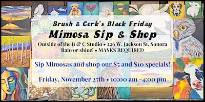 Brush & Cork's Black Friday OUTDOOR Sale