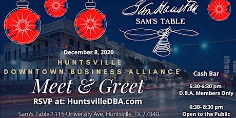 Huntsville Downtown Business Alliance Meet and Greet tickets