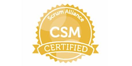 Certified Scrum Master Workshop  *weekend class* tickets