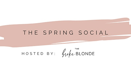 The Broke Blonde Winter Social tickets