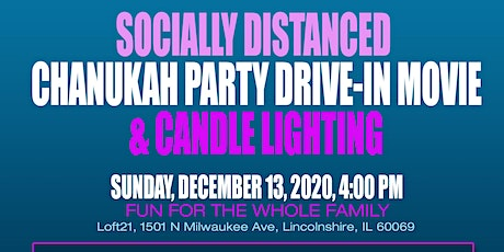 Community Socially Distanced Chanukah Party tickets