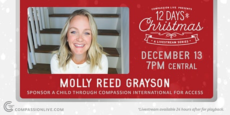 12 Days of Christmas - A Livestream Series | Molly Reed Grayson tickets
