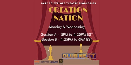 Creation Nation: Theatre Production tickets