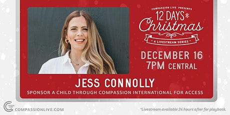 12 Days of Christmas - A Livestream Series | Jess Connolly tickets