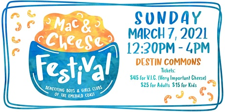 Mac & Cheese Festival 2021 tickets