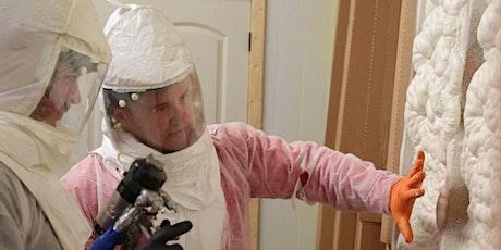 3 - Day Fiberglass and Spray Foam Insulation Training | Minneapolis, MN tickets