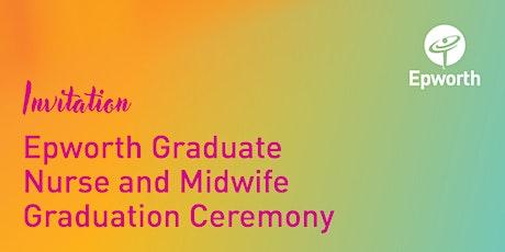 Epworth Graduate Nurse and Midwife Graduation Ceremony tickets