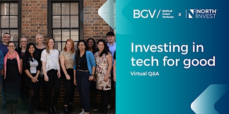 Bethnal Green Ventures x NorthInvest: Spring 2021 Programme Virtual Q&A tickets