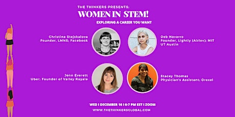 Women in STEM Leadership: Exploring a Career You Want tickets