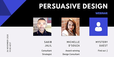 Persuasive Design: The Good, The Bad, and The Ugly tickets