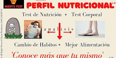 Perfil Nutricional tickets