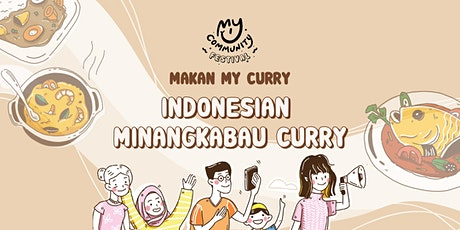 Makan My Curry: Indonesian Minangkabau Curry tickets